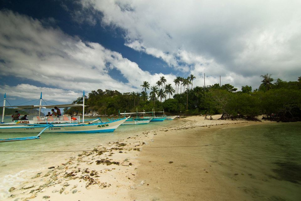 Sand bar of Snake Island, my wife's favorite island