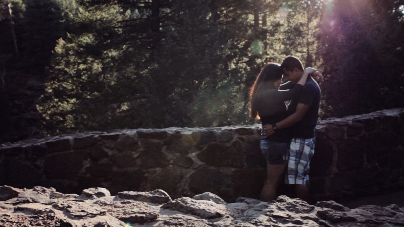 Dax Victorino Films Burney Falls lovers